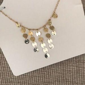 New LC Lauren Conrad ombre gold silver tone